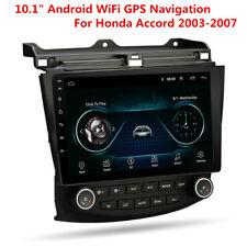 "10.1"" HD Android 9.1 Car Stereo Radio Wifi GPS Navigation for Honda Accord 03-07"