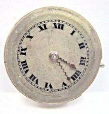 Antique Paul Ditisheim Pocket Watch Movement 19 mm 16 Ruby Jewels, 4 adjs/