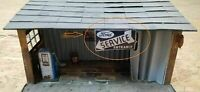 "Sign for Garage Diorama ""Service Entrance"" -  1/43 or 1/18 scale"