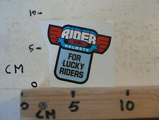 STICKER,DECAL RIDER HELMETS MPA FOR LUCKY RIDERS A MOTO ?