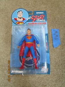 DC Direct Lot ALL STAR COMICS SUPER SQUAD SUPERMAN FIGURE Re-Activated Series 1