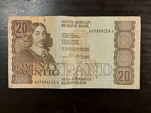 South Africa 20 Rand ND (1982-85), P-121