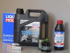 Sistema de mantenimiento HONDA VTX 1800 Filtro aceite bujía Servicio Inspección