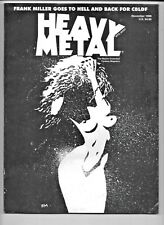 Heavy Metal November 1999 CBLDF Frank Miller Limited Edition 6.0 FN 1977 Series