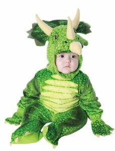 TODDLERS DINOSAUR TRICERATOPS HALLOWEEN COSTUME 2T-4T UR26030TL