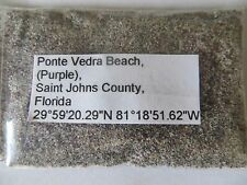 Florida Ponte Vedra Beach (PURPLE SAND) The Only Purple Sand in Florida?