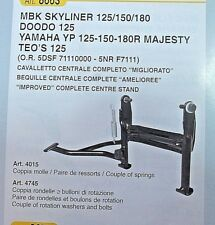 YAMAHA MAJESTIC MBK SKYLINER 125 150 180 CAVALLETTO CENTRALE CENTRE STAND