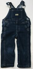 Wramgler Overalls Stretch Denim Blue Jean Sz 18 Mos Bibs Pants Unisex