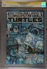 Turtles #3 CGC 9.4 1985 Kevin Eastman Signed and Sketch! Signature! F11 112 cm