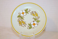 "HEARTHSIDE PRAIRIE FLOWERS Garden Festival Japan 7 3/4"" Salad Plates (Set of 4)"
