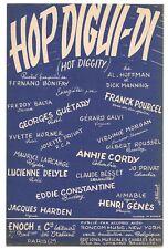 HOP DIGUI = DI par GUÉTARY A. CORDY Y.HORNER F. POURCEL...Valse rapide en 1946
