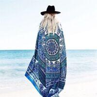 Square Chiffon Beach Towel Bath Towels Yoga Shawl Wrap tapestry Home Decoration