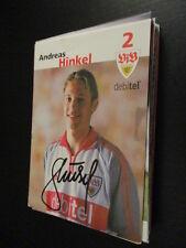 56155 Andreas Hinkel VFB Stuttgart DFB original signierte Autogrammkarte