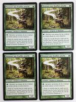 MTG Magic  Playset 4x Meneuse aux feuilles orochi  Guerriers de Kamigawa  VF