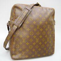 LOUIS VUITTON MARCEAU Shoulder Bag Purse Monogram No.70 Brown