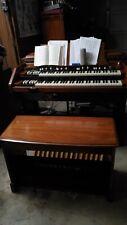 Hammond Organ Model D (a Hammond Bc in a church case), great condition.