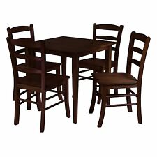 Winsome Groveland 5pc Square Dining Table with 4 chairs 94532 New