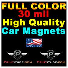 "Custom Designed 30mil 24X24 Custom Car Magnet  Magnetic Auto Truck Signs 24""x24"""