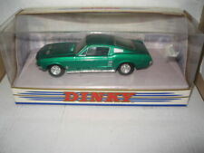 MATCHBOX DINKY 1.43 1967 FORD MUSTANG FAST BACK GREEN  DY-16   OLD SHOP STOCK