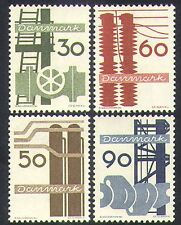 Denmark 1968 Shipbuilding/Electricity/Industry/Commerce/Engineering 4v (n38523)
