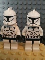 Lego Star Wars Minifigure   CLONE TROOPERS Black Hips & Hands   Vintage