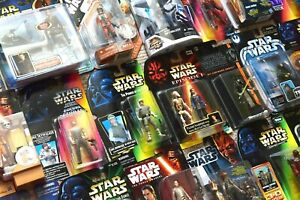 Star Wars Mezcladas Personaje Cardado Figuras POTF2 & 30th Aniversario (Caja)