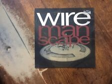 Wire- Manscape LP- Rare Vinyl!!!!!!!!!!!
