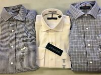 NEW!! Tommy Hilfiger Mens Regular Fit Wrinkle Resistant Dress Shirts Variety!