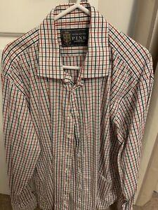 "Thomas Pink Multicoloured Shirt 17"""