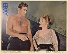 Rod Taylor barechested Young Cassidy VINTAGE Color Card
