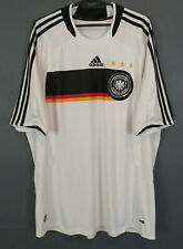 ADIDAS GERMANY 2007/2008 DEUTSCHLAND HOME SOCCER FOOTBALL SHIRT JERSEY SIZE XL