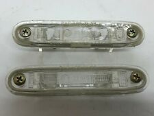 Mercedes W123 W201 W124 Hella Number Plate License Light Set Genuine NOS