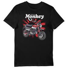 Honda Monkey Bike (red) Rising Sun UNISEX Short Sleeve T-Shirt