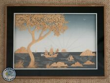 More details for vintage oriental chinese cork picture diorama 15
