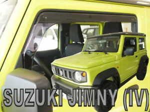 For SUZUKI JIMNY 2018 ->  Wind deflectors  3.doors  2.pc  HEKO  28657