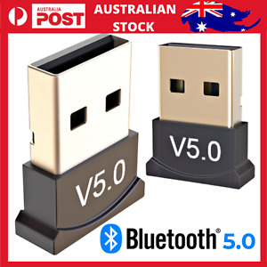 Bluetooth V5.0 Wireless Mini USB Dongle Adapter For PC Desktop Computer Win 7 10