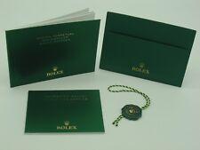 Genuine Rolex vintage Sea-Dweller Rolex Deepsea booklet set 2017