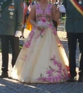 Königinnenkleid Zeremonienmeisterinkleid Hofdamenkleid Gr. 38