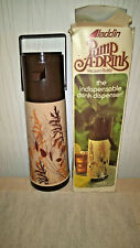 Alladin Pump-A-Drink Autumn Wheat 1 Quart Thermos