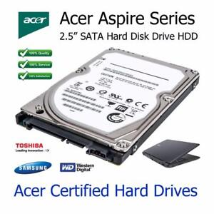 """500GB Acer Aspire 5734Z 2.5"""" SATA Laptop Hard Disc Drive HDD Upgrade Replacement"""