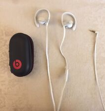 Powerbeats2 Earphones White With Carrying Case