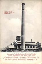 Maidenhead. Electricity Works Chimney Shaft by Alphons Custodis Construction.