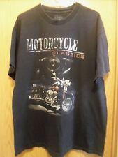 Motorcycles Classics black graphic springer 2XL t shirt