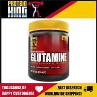 MUTANT GLUTAMINE 300G UNFLAVOURED 100% PURE ZERO FILLERS RECOVERY AMINO IMMUNITY