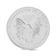 President Donald Trump Inaugural Silver Commemorative Novelty Coin AU