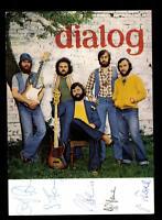 Dialog Autogrammkarte Original Signiert ## BC 67343