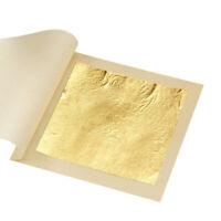 10pcs 24K Gold Leaf Real Edible Leaf Cake Ice Cream Skin Care Food DIY Art Decor