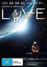 ANGELS & AIRWAVES - LOVE - BRAND NEW & SEALED DVD (INTERNATIONAL SPACE STATION)