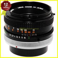 Canon FD 50mm f/1.8 S.C. obiettivo per fotocamere a pellicola manual focus