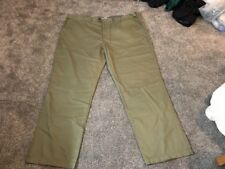 M&s Men Green Regular Fit Active Waist Trousers W48 L33 Bnwt Sameday Free P&p